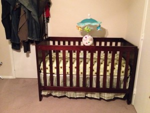 Mommy Picked The Best Stuff For Me Decorated Wall Where Crib Would Be Placed Dad Fixed My Changing Table And Mobile